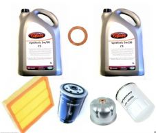 LAND ROVER DISCOVERY 2 TD5 SERVICE KIT INC 10 LITRES FULLY SYN 5W30 OIL SK007SOR
